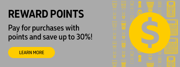 Pay by reward points. Learn more to know how