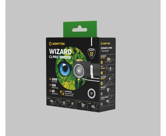 Armytek Wizard C1 Pro Magnet USBArmytek Wizard C1 Pro Magnet USB